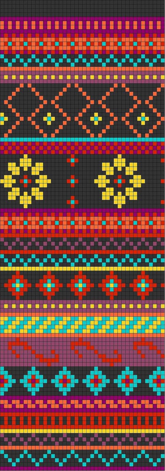 Wayuu Mochilla Bag Chart 71