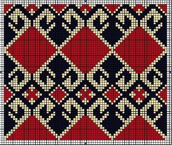 Wayuu Mochilla Bag Chart 72
