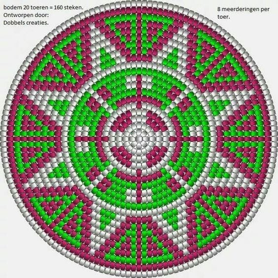 Wayuu Mochilla Bag Chart 81
