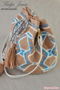 Wayuu Mochilla Bag Nasıl Yapılır? 24