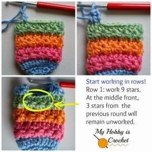 Yıldız Örgü Bebek Çorabı Nasıl Yapılır? 2