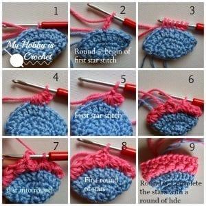 Yıldız Örgü Bebek Çorabı Nasıl Yapılır? 3