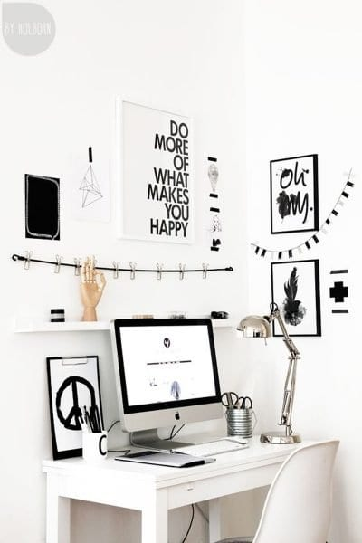 Çalışma Odası Dekorasyon Fikirleri 1