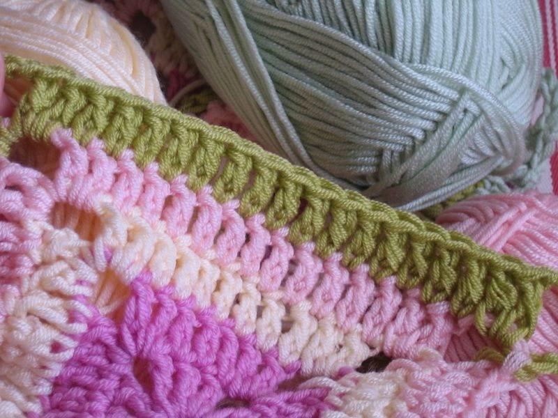 Çiçekli Bebek Battaniyesi Nasıl Yapılır? 15