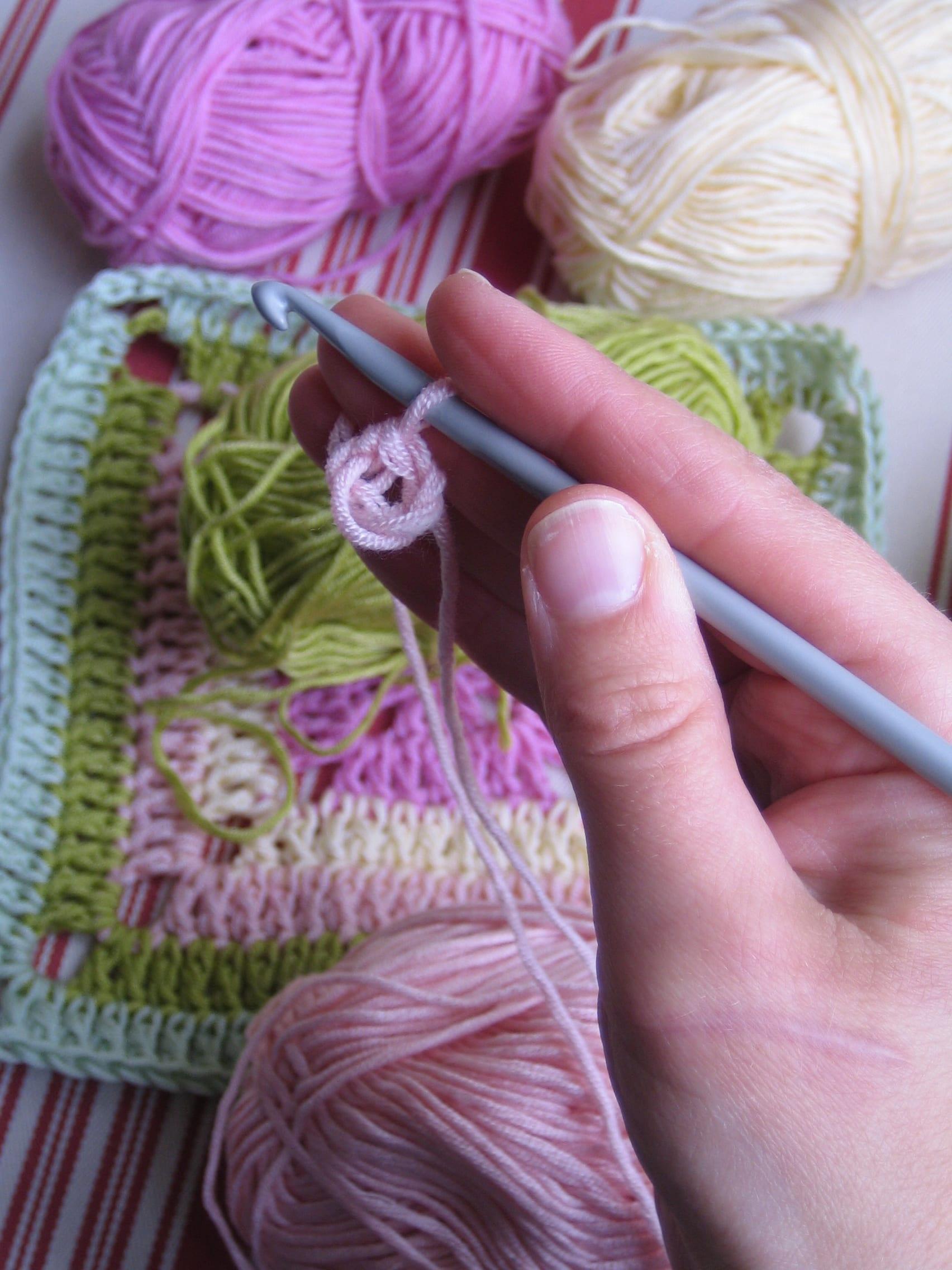 Çiçekli Bebek Battaniyesi Nasıl Yapılır? 20