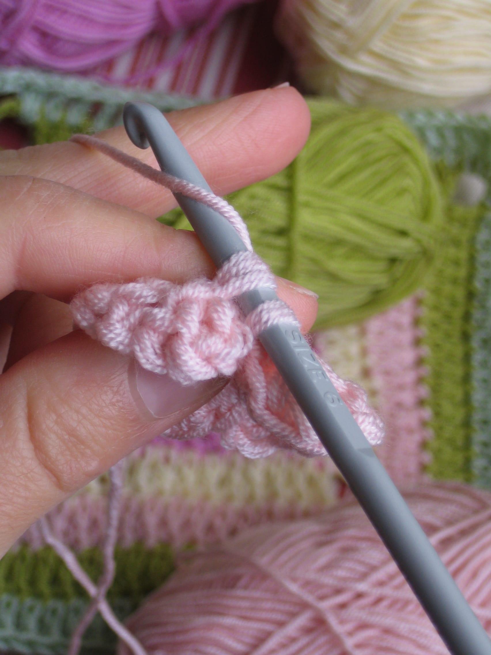 Çiçekli Bebek Battaniyesi Nasıl Yapılır? 27