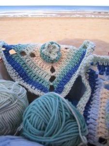 Çiçekli Bebek Battaniyesi Nasıl Yapılır? 44