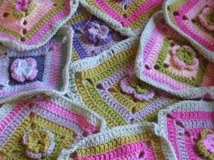 Çiçekli Bebek Battaniyesi Nasıl Yapılır? 45
