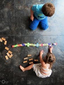 Çocuklar İçin Domino Oyunu Nasıl Yapılır? 8