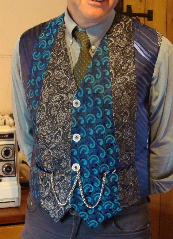 Eski Kravatlardan Yeni Tasarımlar 10