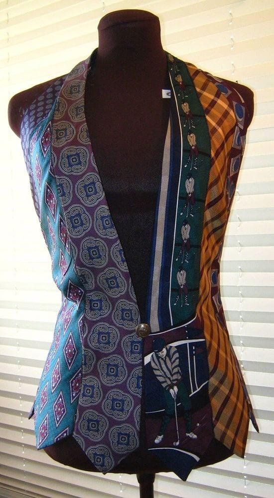 Eski Kravatlardan Yeni Tasarımlar 16