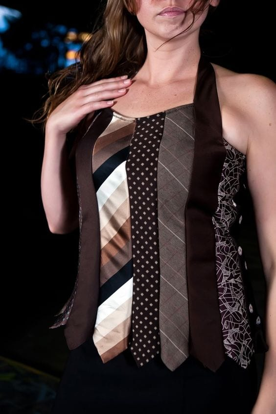 Eski Kravatlardan Yeni Tasarımlar 20