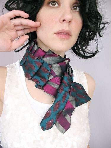 Eski Kravatlardan Yeni Tasarımlar 23