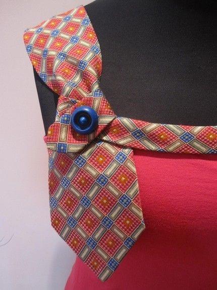 Eski Kravatlardan Yeni Tasarımlar 24