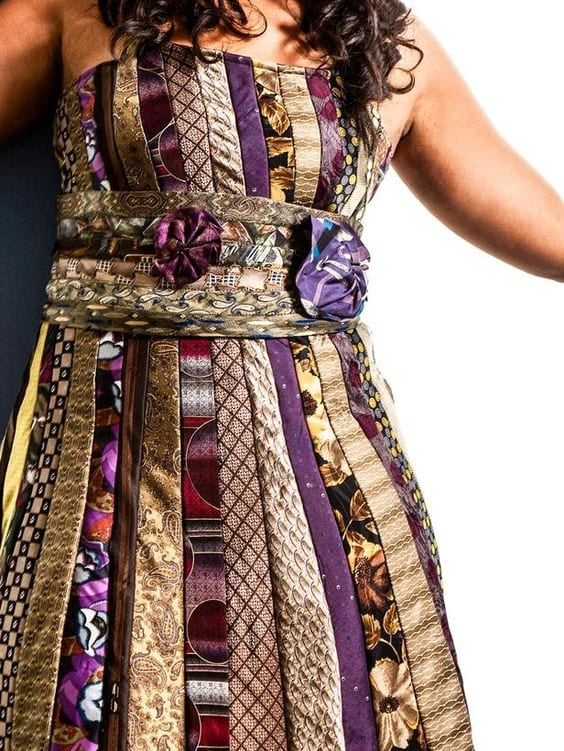 Eski Kravatlardan Yeni Tasarımlar 34