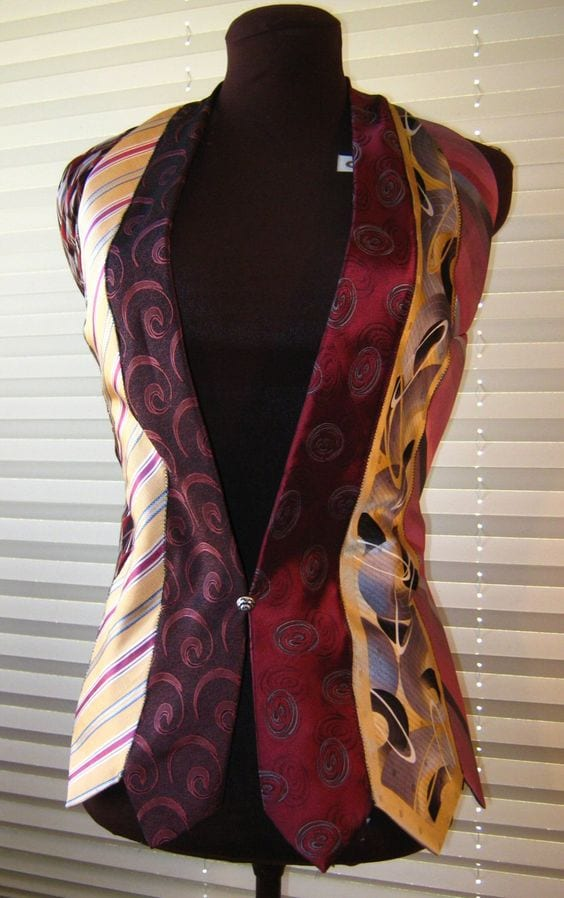 Eski Kravatlardan Yeni Tasarımlar 3