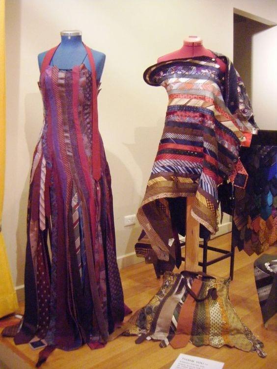 Eski Kravatlardan Yeni Tasarımlar 45