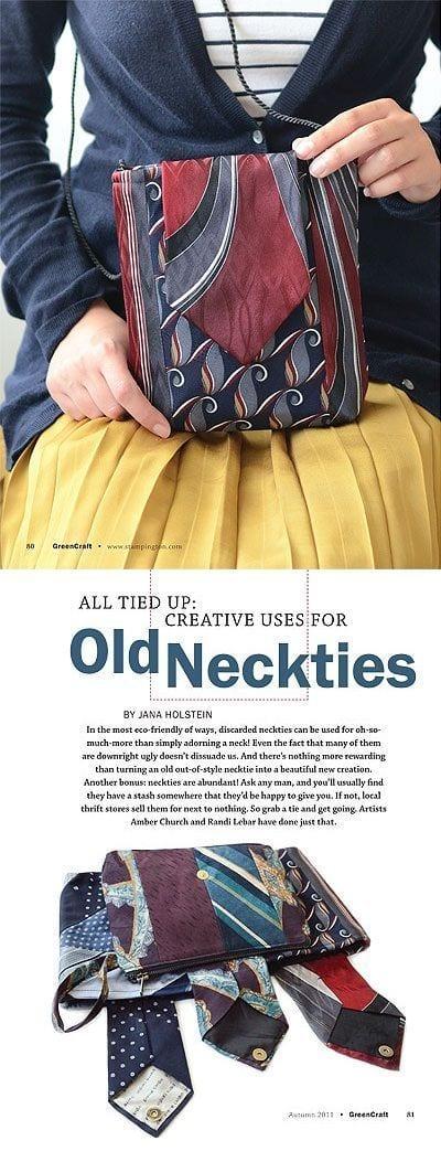 Eski Kravatlardan Yeni Tasarımlar 48
