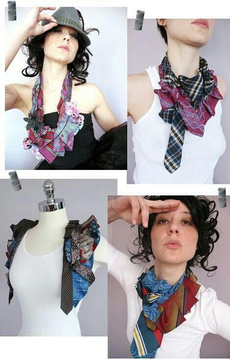 Eski Kravatlardan Yeni Tasarımlar 55