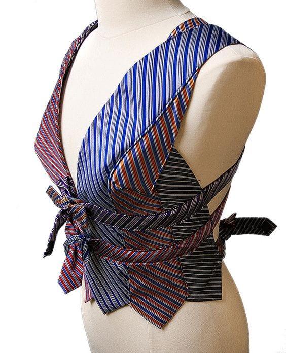 Eski Kravatlardan Yeni Tasarımlar 58