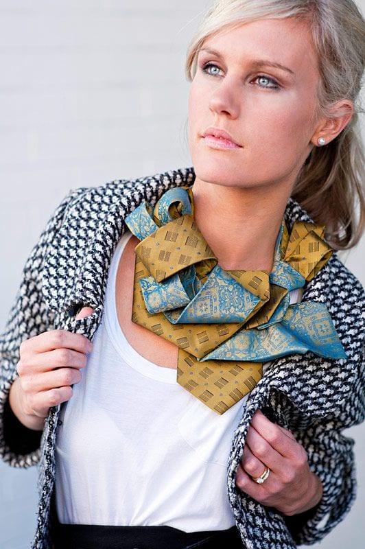 Eski Kravatlardan Yeni Tasarımlar 6