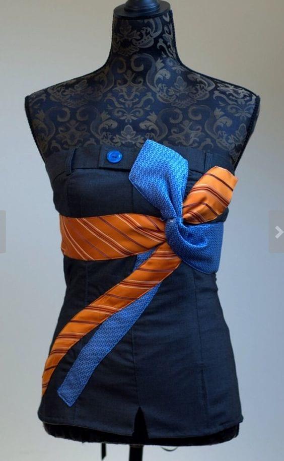 Eski Kravatlardan Yeni Tasarımlar 78