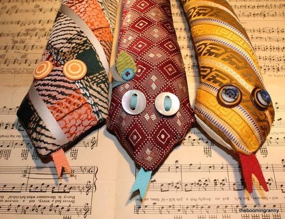 Eski Kravatlardan Yeni Tasarımlar 82