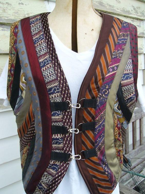 Eski Kravatlardan Yeni Tasarımlar 85