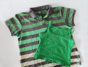 Eski Tişörtten Elbise Yapımı 1