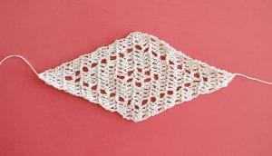 Geometrik Üçgen Şal Yapılışı 1