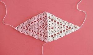 Geometrik Üçgen Şal Yapılışı 5
