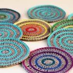 Gökkuşağı Mandala Bardak Altığı Nasıl Yapılır? 11