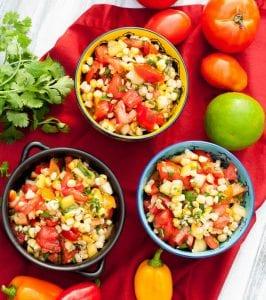 Izgara Mısır Salatası Tarifi 1