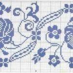 Kanaviçe Masa Örtüsü Şablonları 15