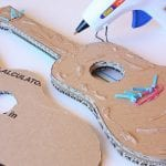 Kartondan Gitar Nasıl Yapılır? 17