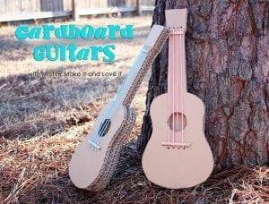 Kartondan Gitar Nasıl Yapılır? 26