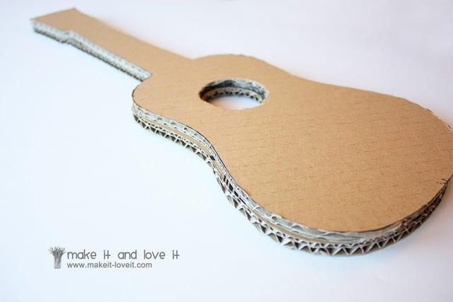 Своими руками гитару из подручных материалов 88