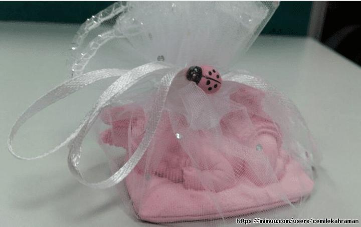 Kız bebek kokulu taş, Kokulu sabun