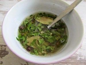 Kore Usulü Mantar Salatası 3