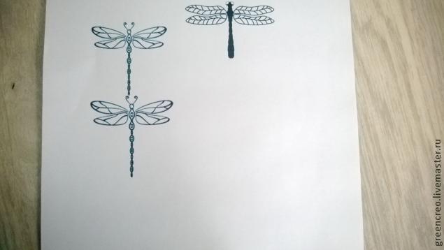 Kum Boncuktan Yusufçuk Broş Yapımı 1