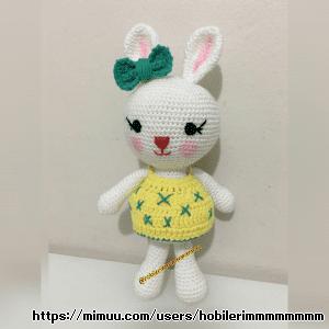 Amigurumi Yumurcak Ayı ve Tombiş Tavşan
