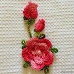 Örgü Çiçek Tomurcuk Nasıl Yapılır ? 1