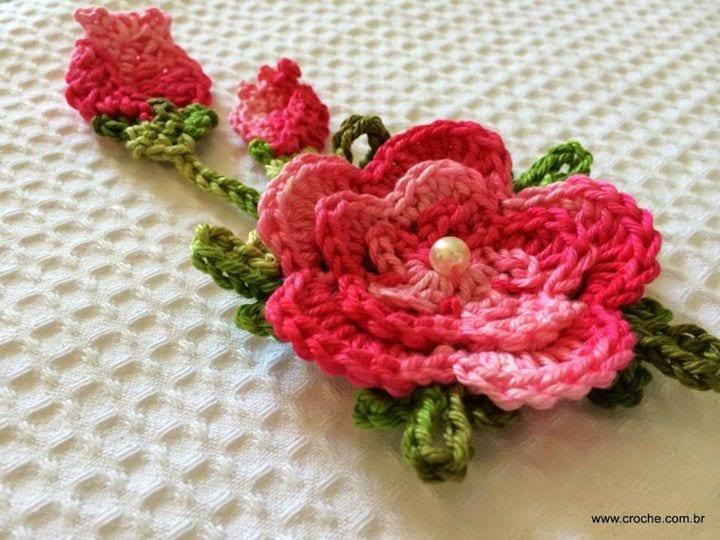 Örgü Çiçek Tomurcuk Nasıl Yapılır ? 35