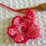 Örgü Çiçek Yapımı Resimli Anlatım 24