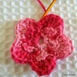 Örgü Çiçek Yapımı Resimli Anlatım 28