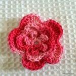 Örgü Çiçek Yapımı Resimli Anlatım 44