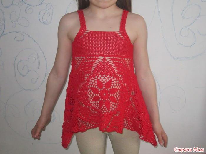 Örgü Elbise Yapılışı 10
