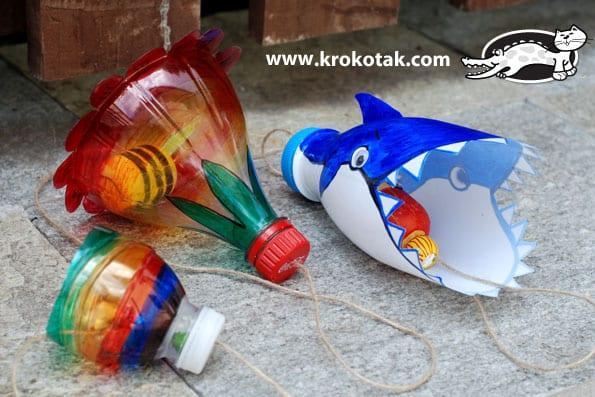 Plastik Şişeden Oyuncak Nasıl Yapılır? 4