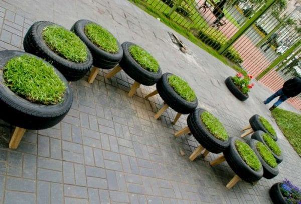 Pratik Bahçe Tasarımları ve Bahçe Dekorasyon Örnekleri 40