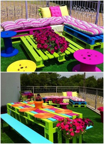 Pratik Bahçe Tasarımları ve Bahçe Dekorasyon Örnekleri 41